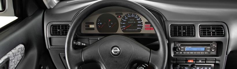 Nissan Tsuru 2017: precios y versiones en México El tablero central del Nissan Tsuru 2017
