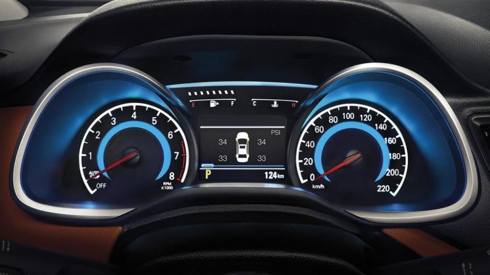 El clúster digital del nuevo Chevrolet Cavalier 2018 te mantendrá informado a detalle