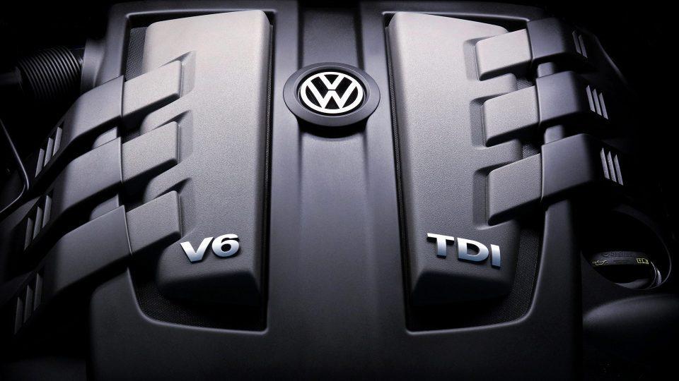 El motor V6 poderoso del volkswagen touareg 2018