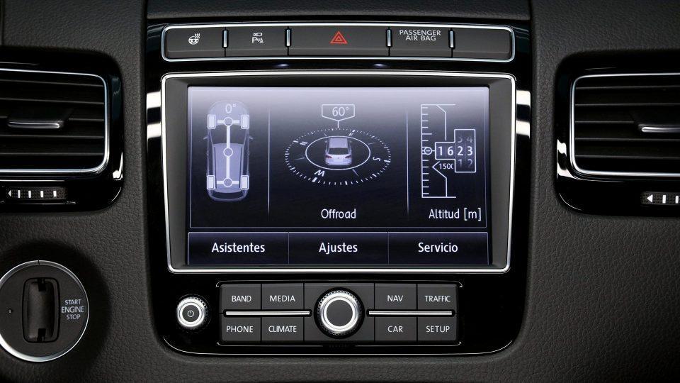 el nuevo volkswagen touareg 2018 se equipa las tecnologias modernas para asegurar seguridad de los pasajeros