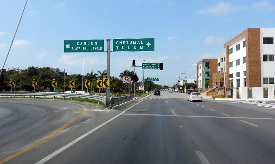 Playa del Carmen – Tulum, Quintana Roo, mejores carreteras de mexico