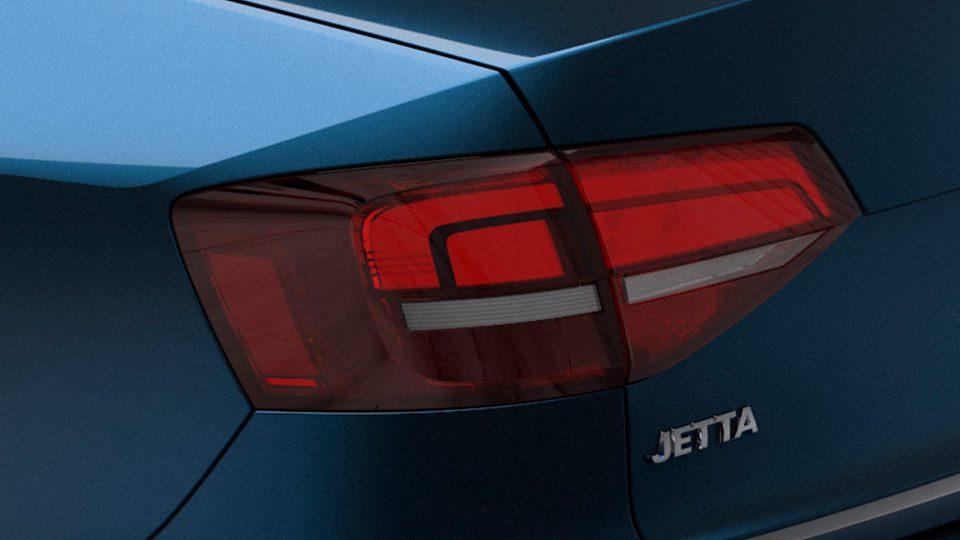 Vista trasera del nuevo Volkswagen Jetta 2018 precio mexico