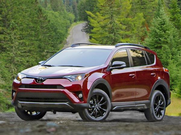 Toyota RAV14 2018 diseño