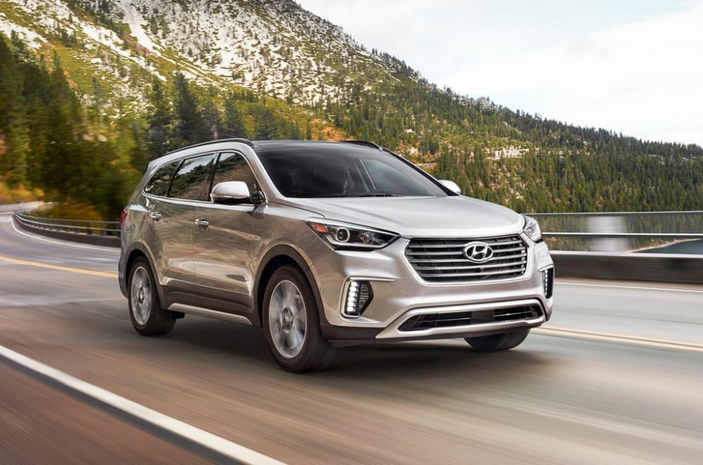 Hyundai Santa Fe 2018 precio