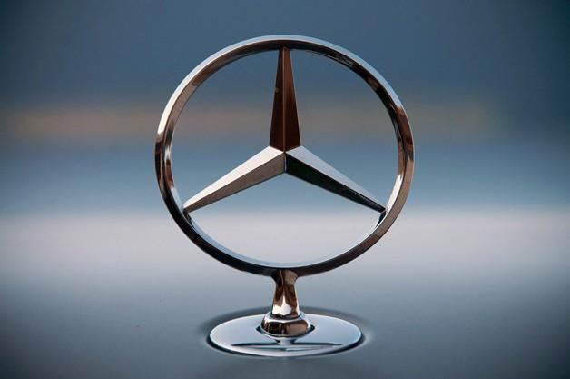 Logo de Mercedes, emblemas de autos