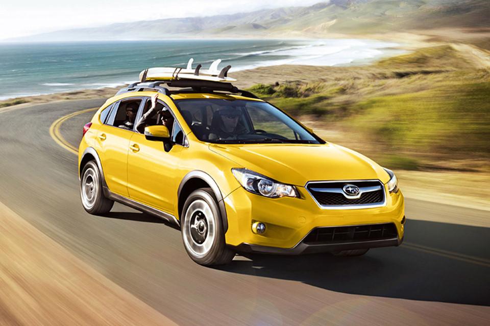 Subaru Crosstrek de color amarillo Subaru 2018 en méxico autos con mejor rendimiento
