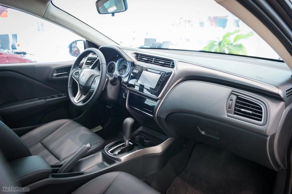 Tecnología del interior del Honda City 2018