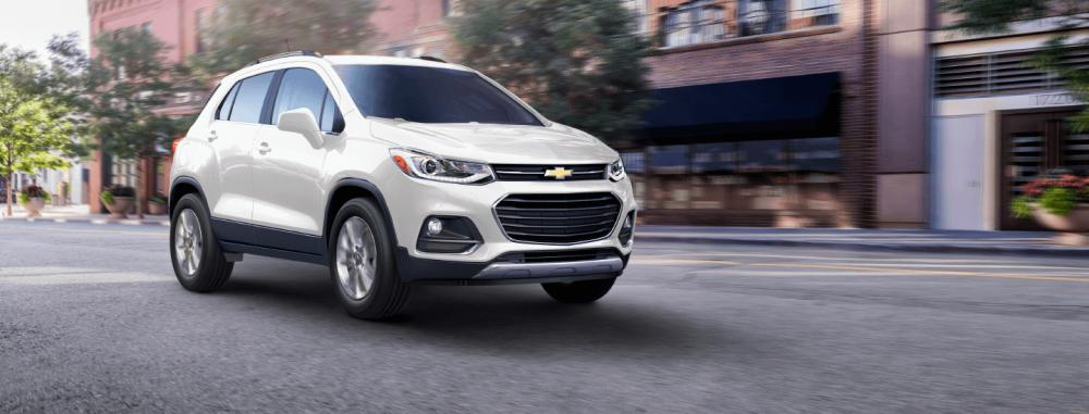 Chevrolet Trax 2018 de color blanco