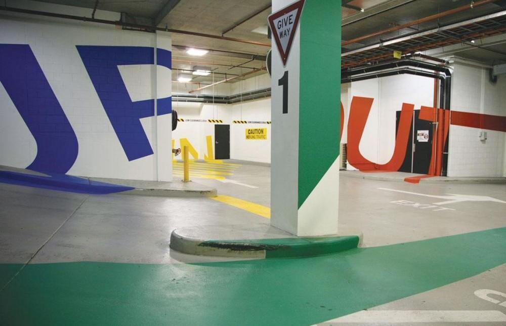 Estacionamiento Eureka en Australia, estacionamientos de autos