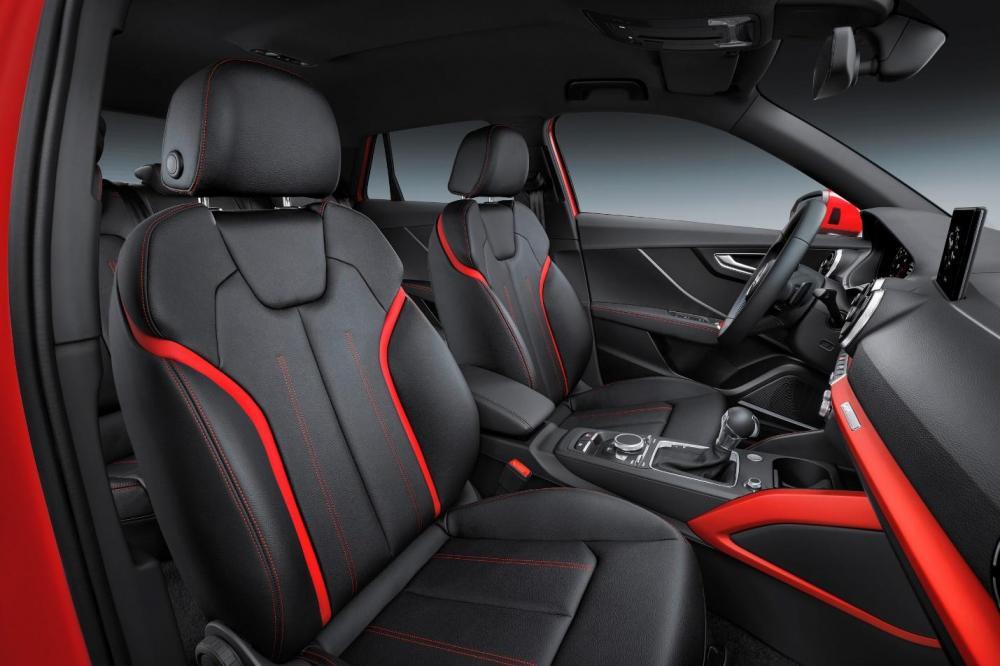 Audi Q2 2018: precios y versions en México- Diseño deportivo de nuevo q2 2018 interior
