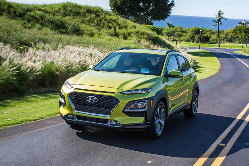 Hyundai Kona 2018: precios y versiones Aspecto frontal  de Hyundai Kona 2018 precio color verde