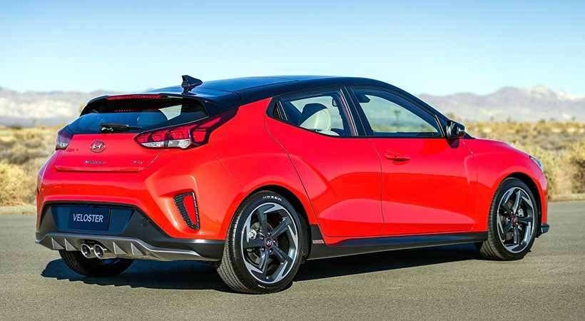 Hyundai Veloster 2019: precios y versiones en México Nuevo Hyundai veloster 2019 precio color rojo en la calle