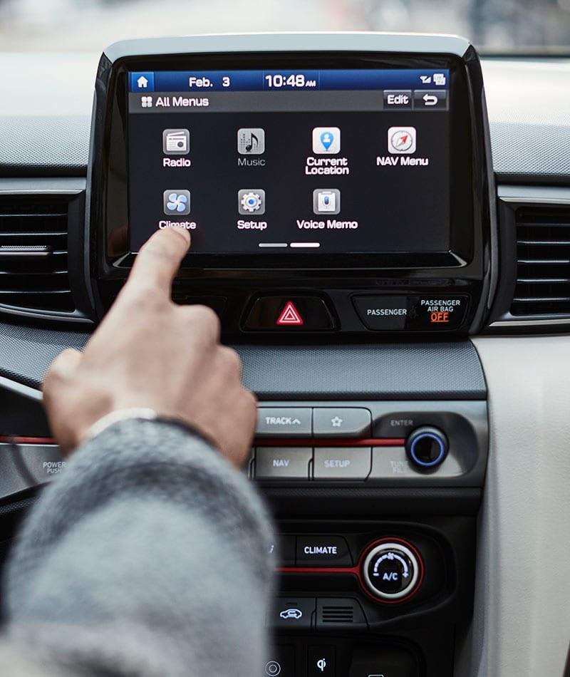 Hyundai Veloster 2019: precios y versiones en México Pantalla táctil 8 pulgadas