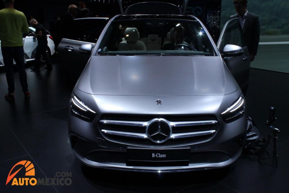 El nuevo Mercedes-Benz Clase B de Mercedes se presentó en el Paris Auto Show 2018