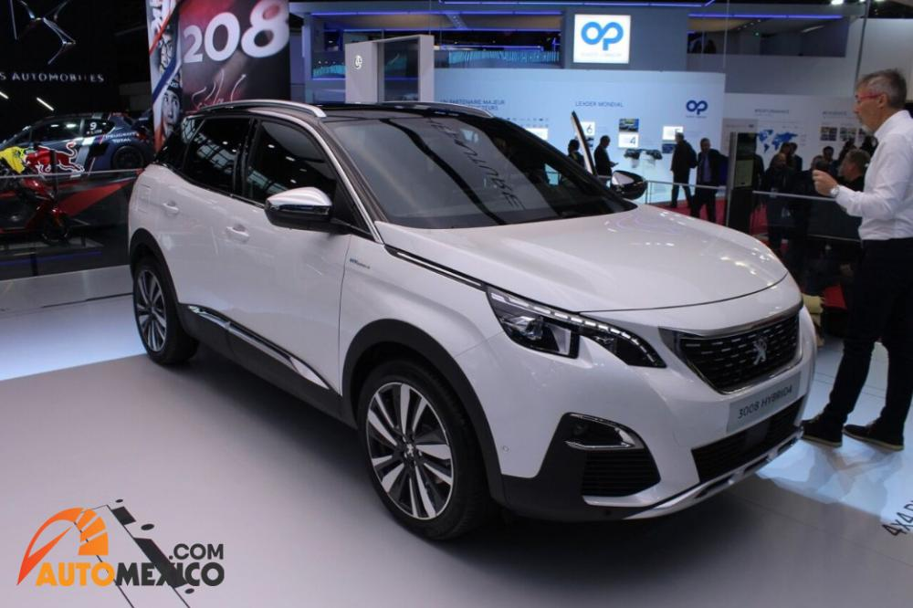 Paris Auto Show 2018 Peogeot 3008