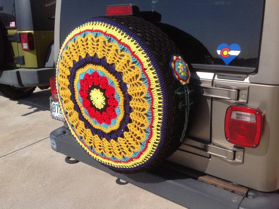 fundas para ruedas de repuesto