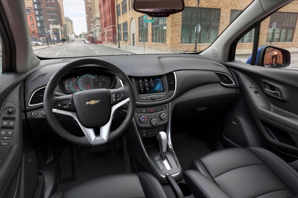 Interior de la Chevrolet Trax 2018