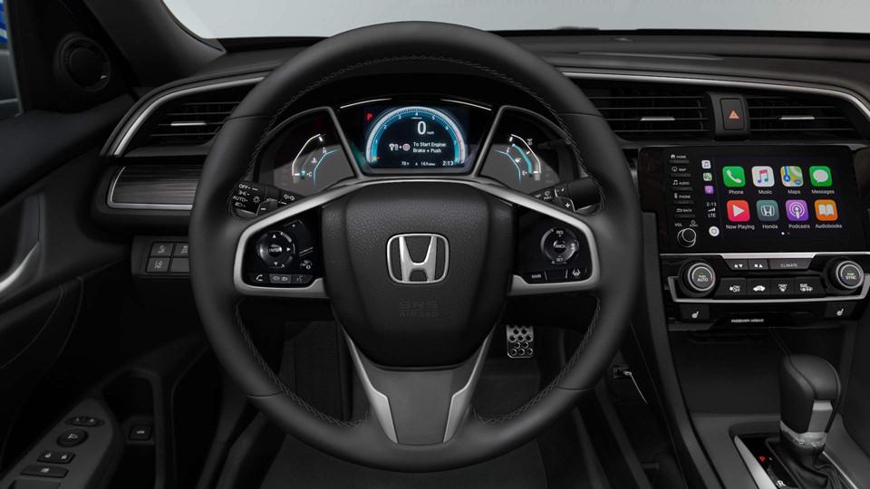 El volante de Honda Civic 2019