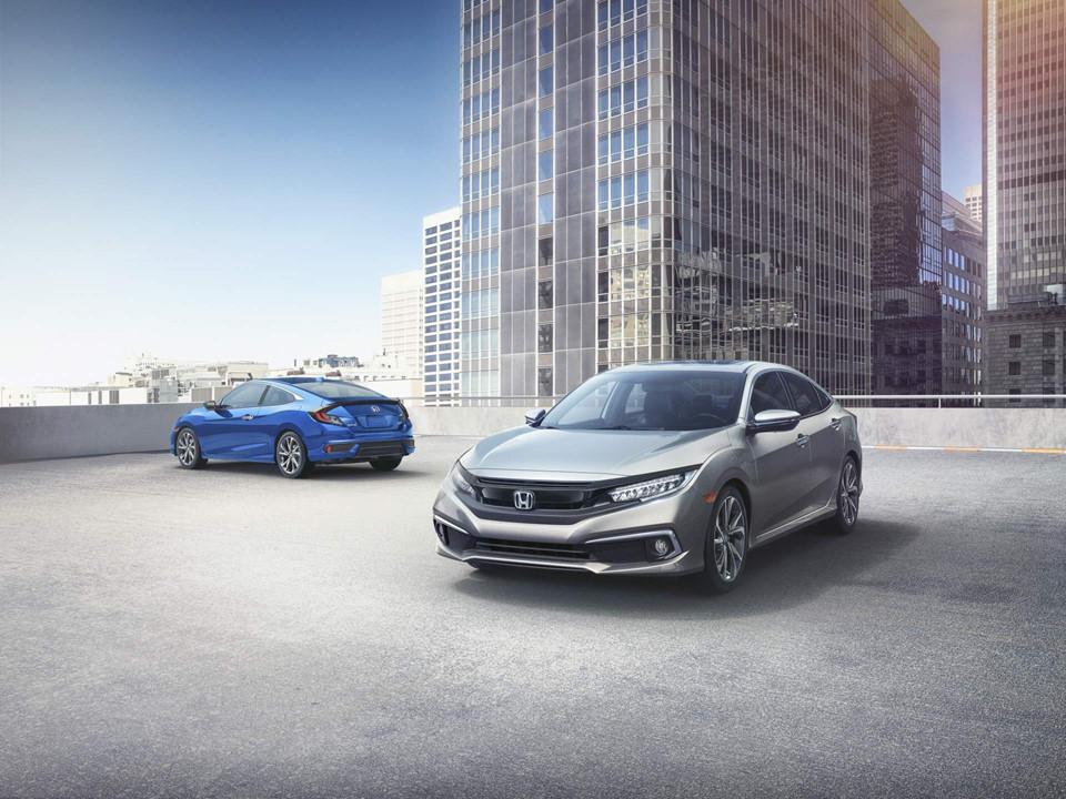 Honda Civic 2019 sedán y coupé