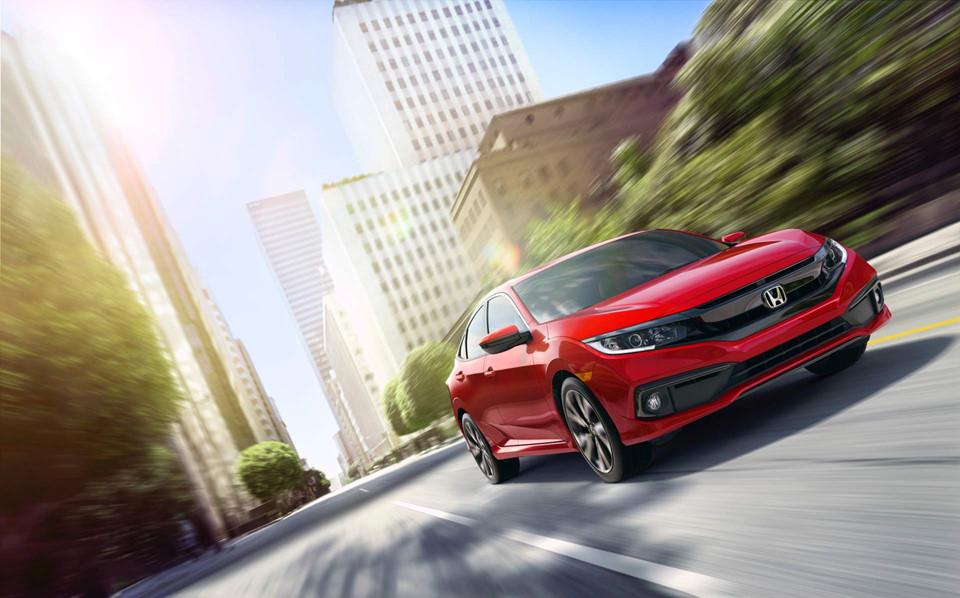 Honda Civic 2019 color rojo