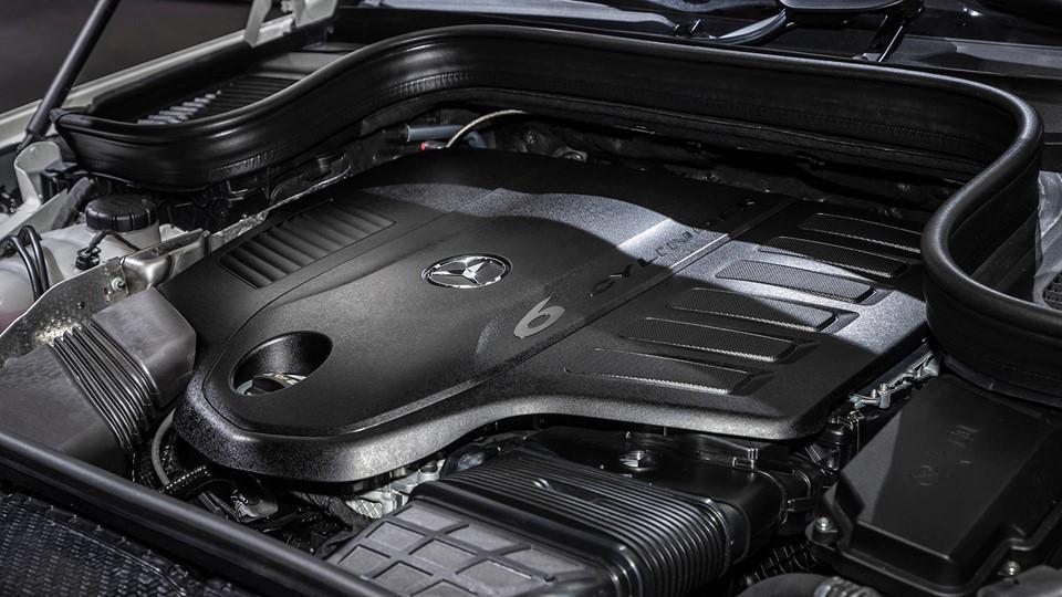 El 6 cilindros de la Mercedes-Benz GLE 2020