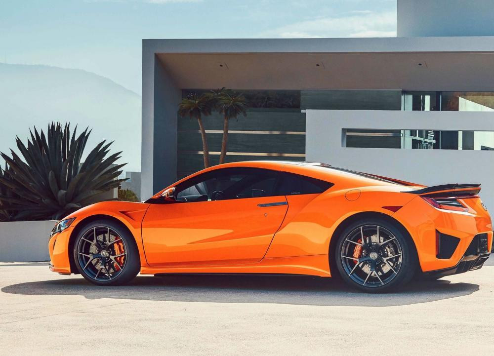 """""""Thermal Orange"""" es el nuevo color opcional para el Honda NSX 2019"""