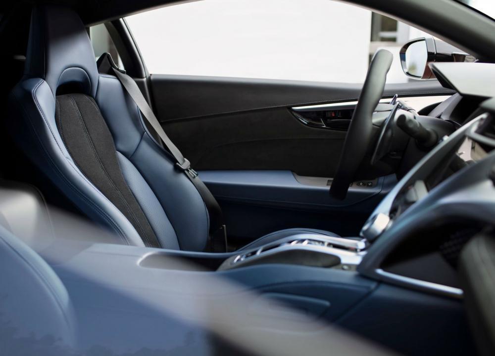 El interior de Honda NSX 2019 tendrá nuevas combinaciones de colores
