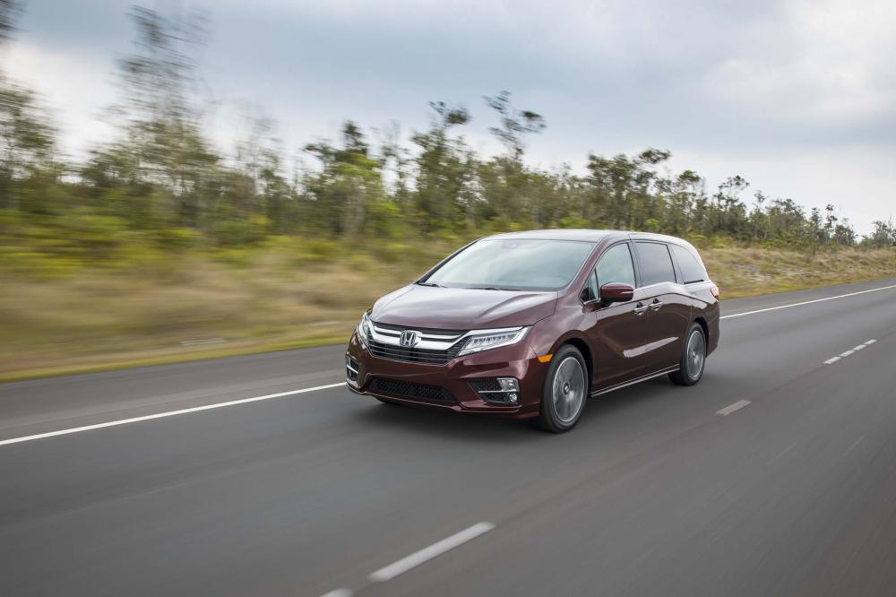 Rendimiento y manejabilidad de la Honda Odyssey 2018