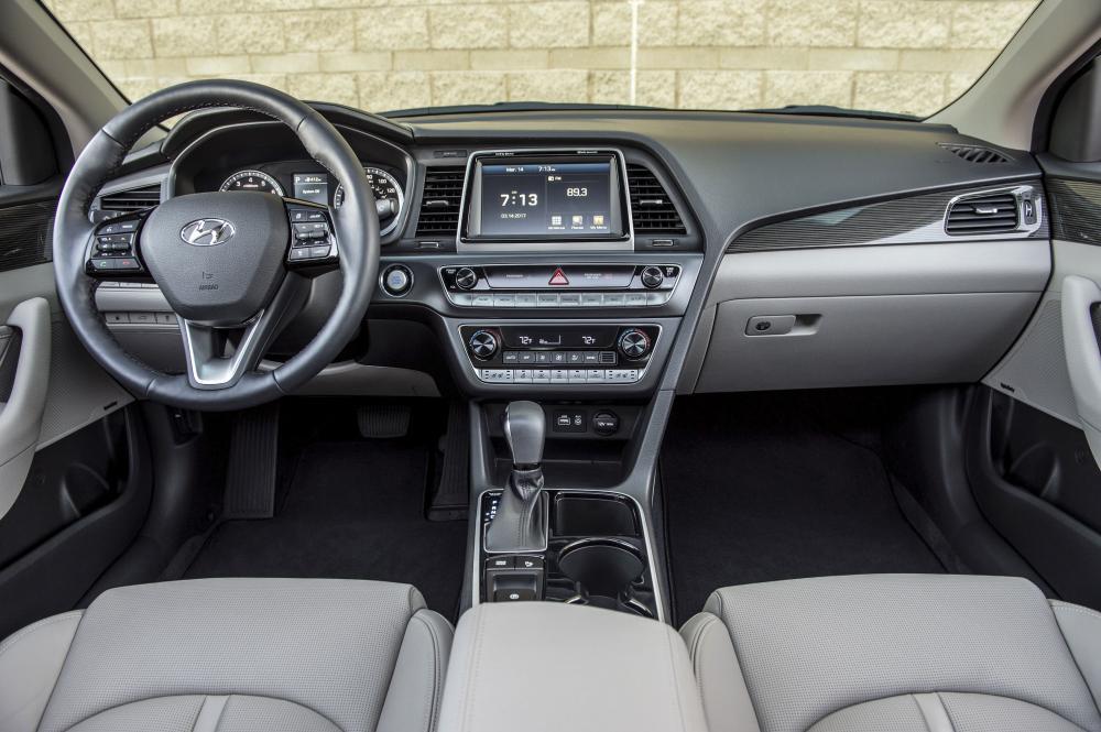 El Hyundai Sonata 2019 dispone de un largo listado de funciones de seguridad y tecnologías estándares