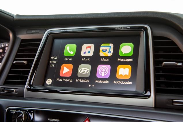 La pantalla central de Hyundai Sonata 2019 se ha rediseñado para ser más fácil de usar