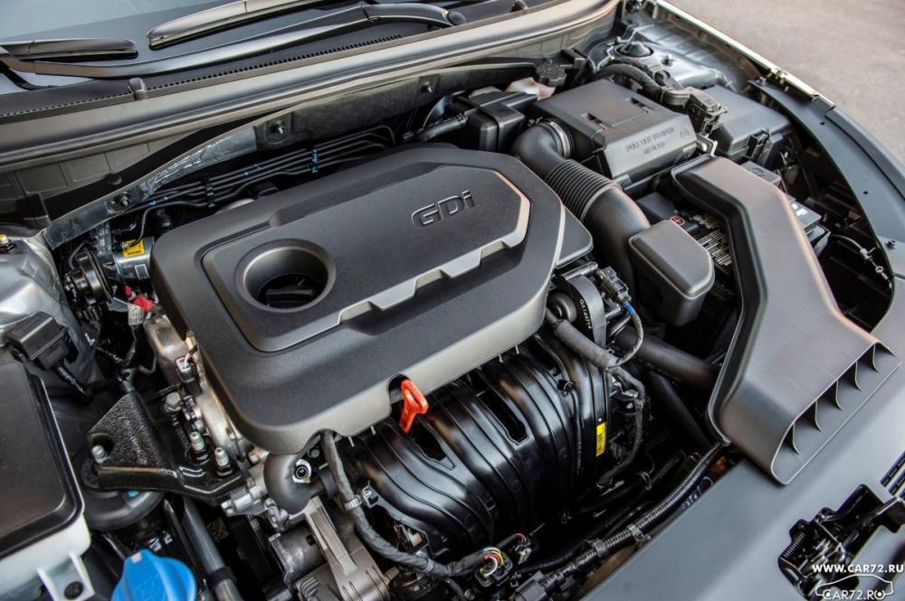 Motor estándar de Hyundai Sonata 2019 poco potente