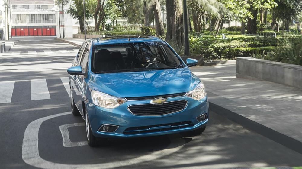 Chevrolet Aveo 2018: Exterior