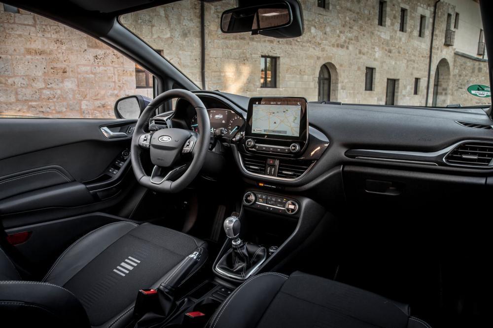 Ford Fiesta 2018: Interior