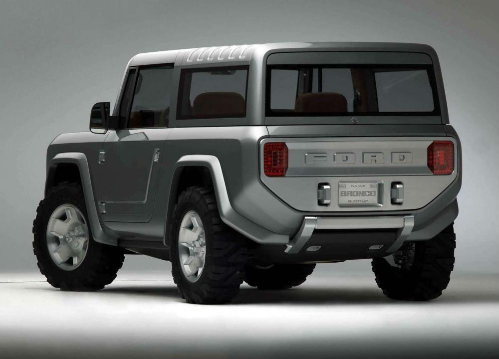 Ford promete que la versión de Ford Bronco será muy parecida al concepto