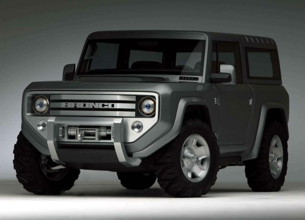 La Ford Bronco llegará en 2020 con transmisión manual de 7 velocidades
