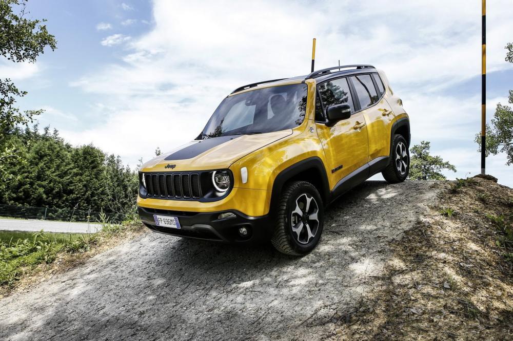 Jeep está trabajando en una versión híbrida del Renegade para 2020