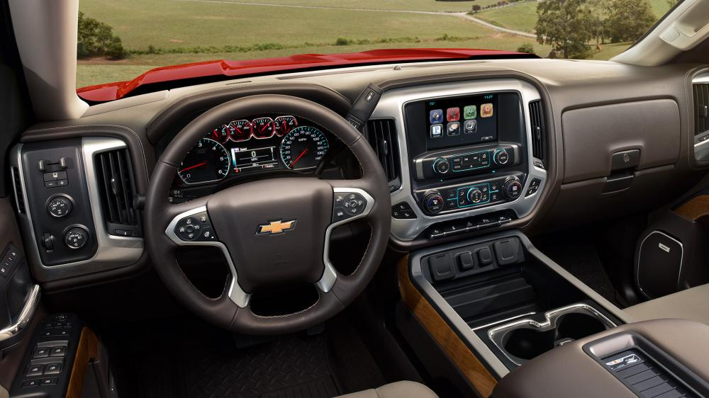 Interior de Chevrolet Silverado 2018