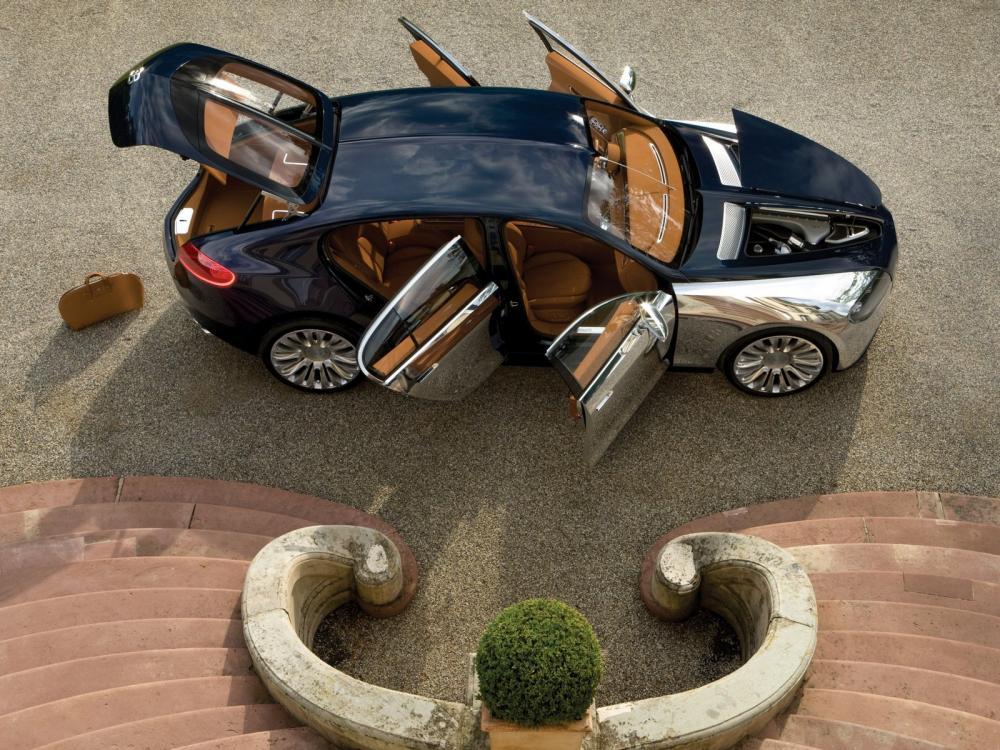 La marca de auto Bugatti, Bugatti Galibier