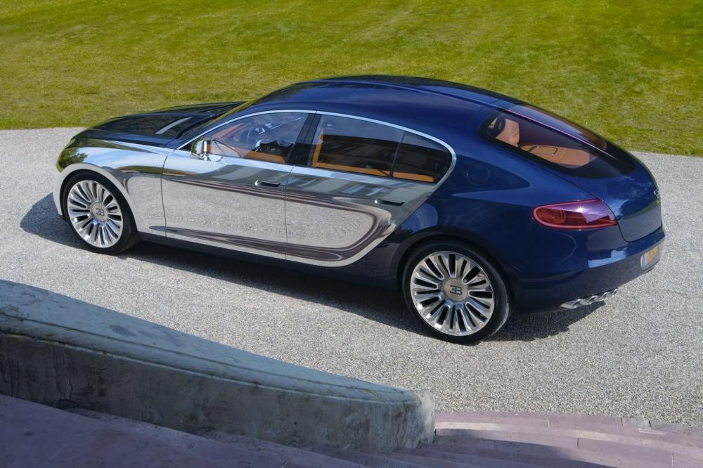 La marca de auto Bugatti
