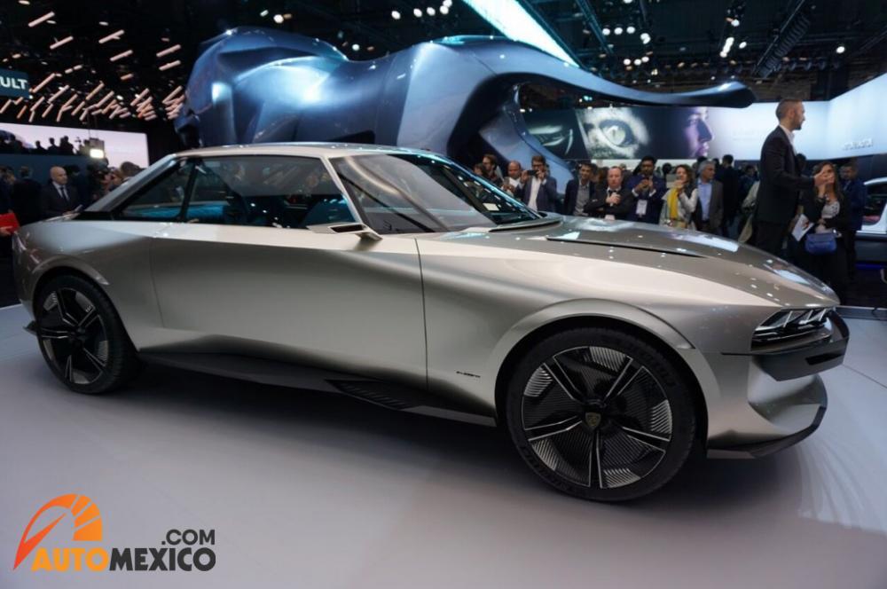 Paris Auto Show 2018 Peugeot e-Legend