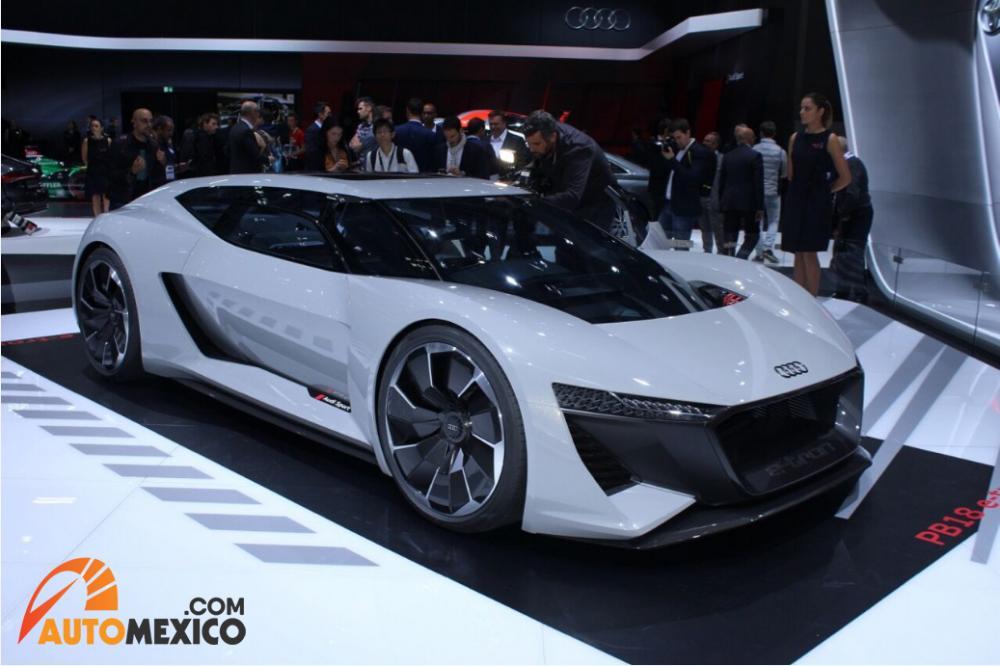 Paris Auto Show 2018 Audi e-tron