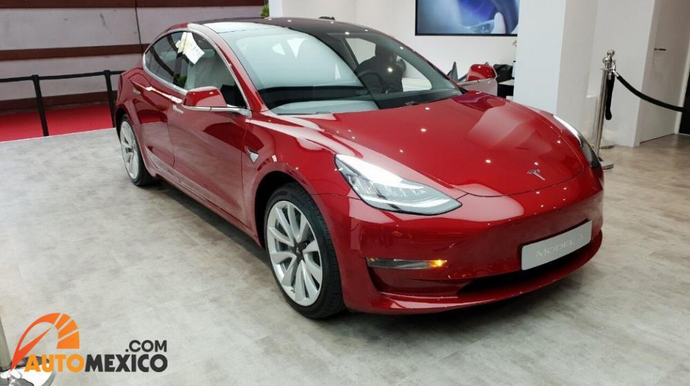 Paris Auto Show 2018 El Tesla Model 3