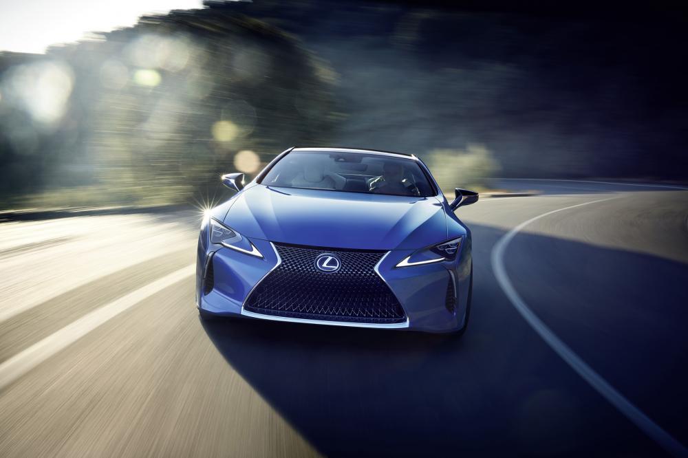 El diseño de Lexus parece rejuvenecido en el nuevo período de desarrollo