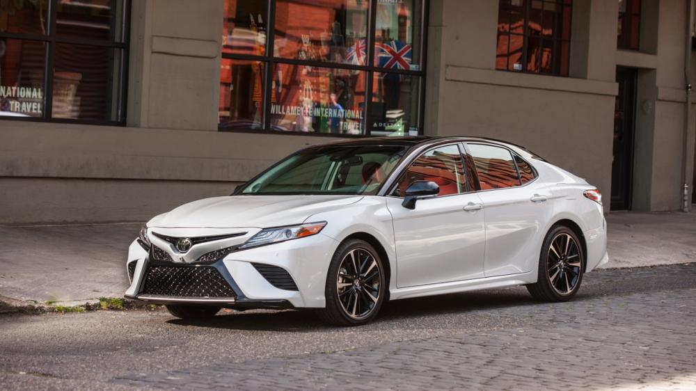 Toyota Camry 2018 el Sedán mediano más popular de la marca