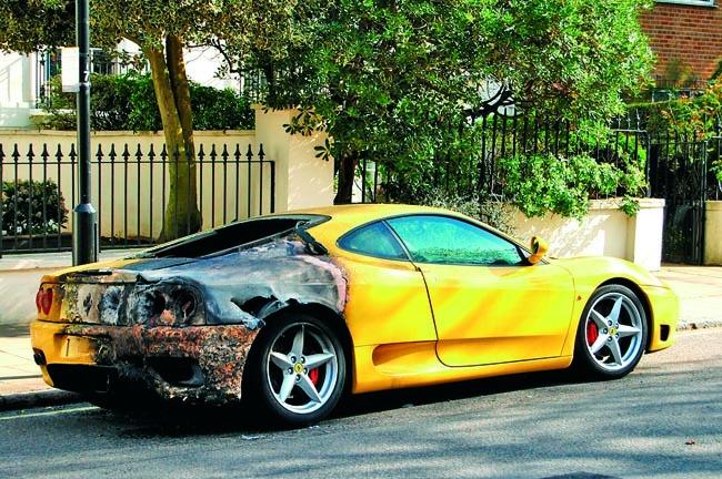 Que hacer si tu auto se incendia