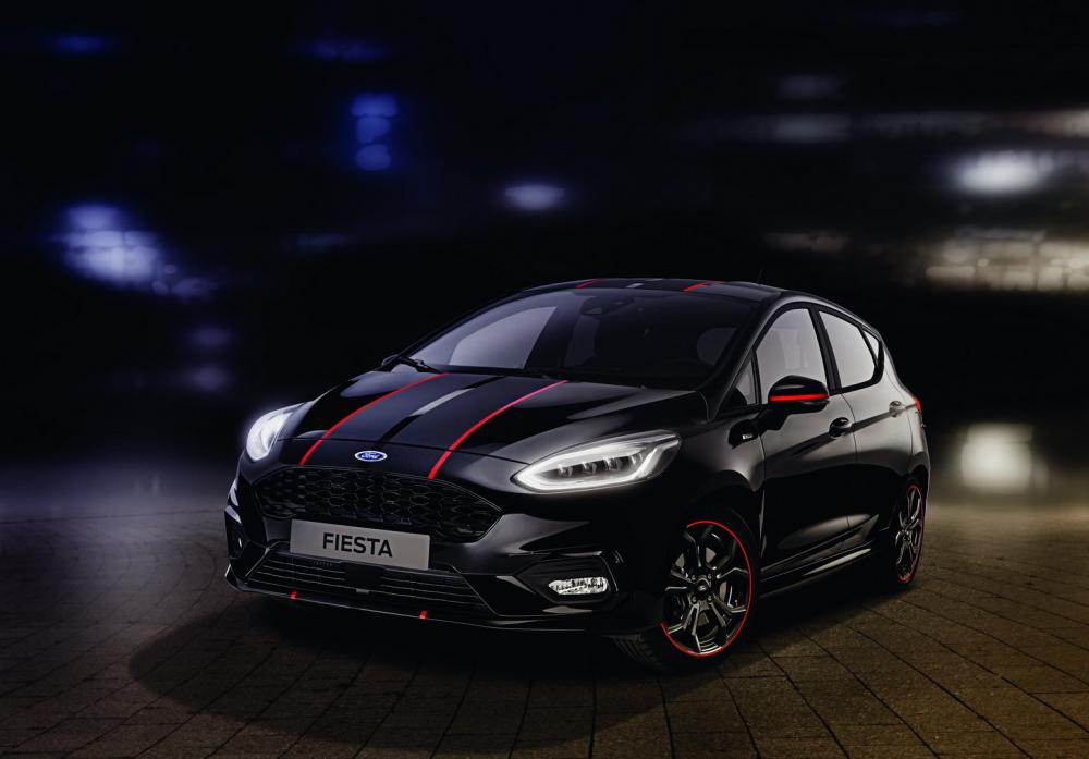 Ford Fiesta ST-Line 2019 Red y Black Editions