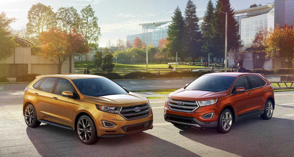 En comparación: Ford Escape 2018 vs. Ford Edge 2018