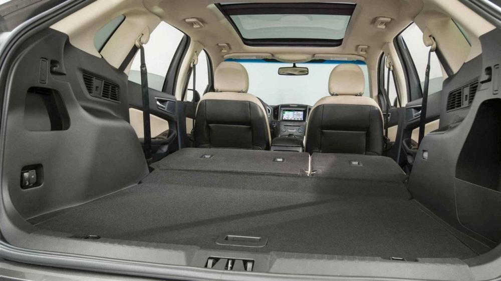 Ford Edge 2018 definitivamente gana en cuanto a la capacidad de carga