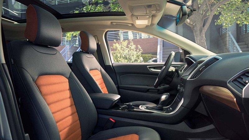 Ford Edge 2018 está dotado de un mejor diseño interior