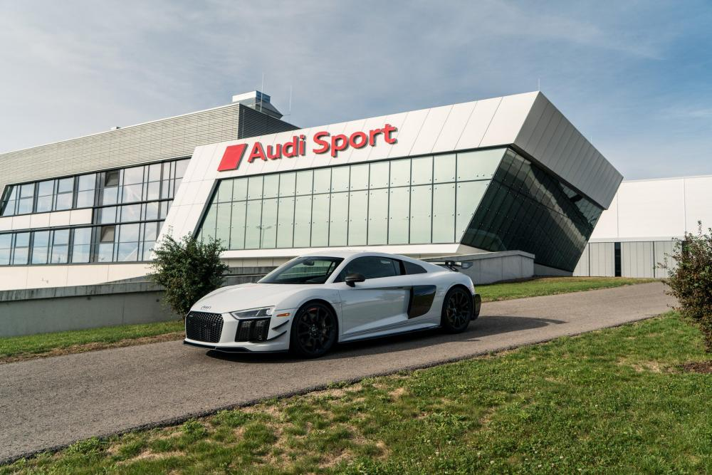 Audi R8 V10 Plus Coupe Competition